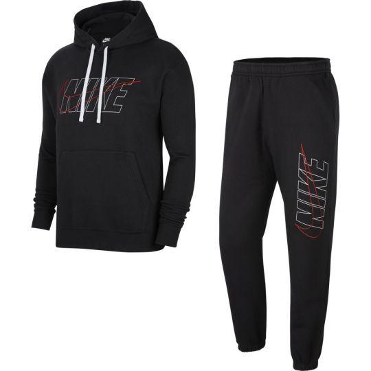 Nike NSW CE Trainingspak Fleece Zwart