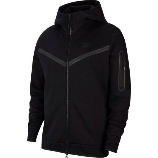 Nike Tech Fleece Hoodie Full Zip Windrunner Zwart