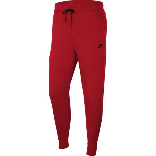 Nike Tech Fleece Jogger Trainingsbroek Rood Zwart