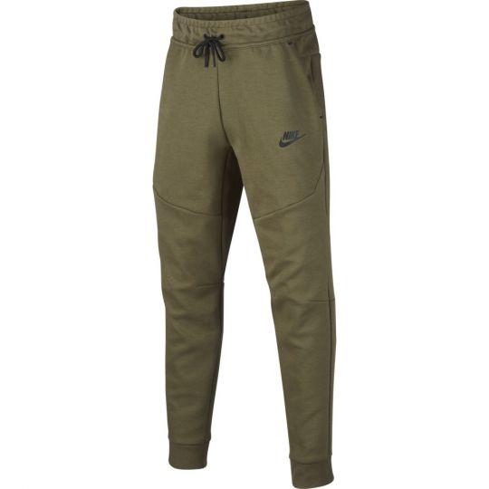 Nike Tech Fleece Trainingsbroek Kids Groen Zwart