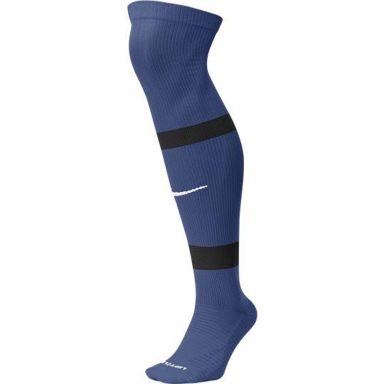 Nike Team Matchfit Voetbalsokken Hoog Blauw