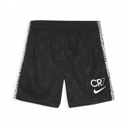 Nike CR7 Dry Trainingsbroekje KZ Kids Zwart Oranje