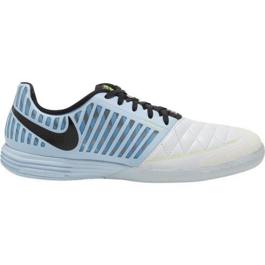 Nike Lunargato II Zaalvoetbalschoenen (IN) Wit Lichtblauw