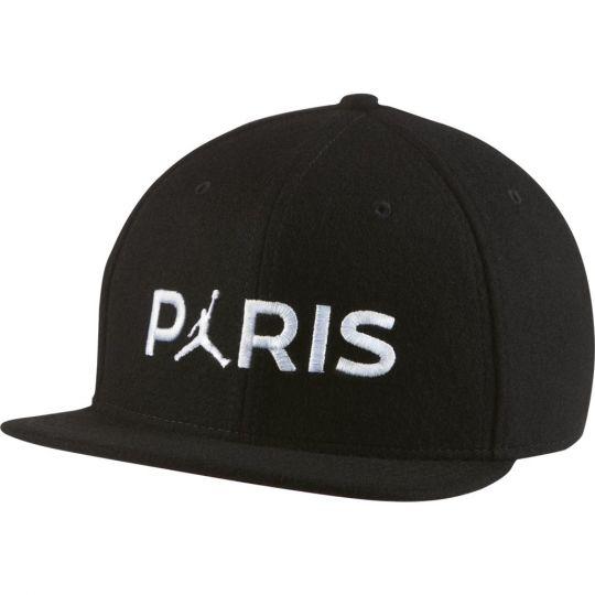 Nike Paris Saint Germain X Jordan Pro Cap Zwart Wit