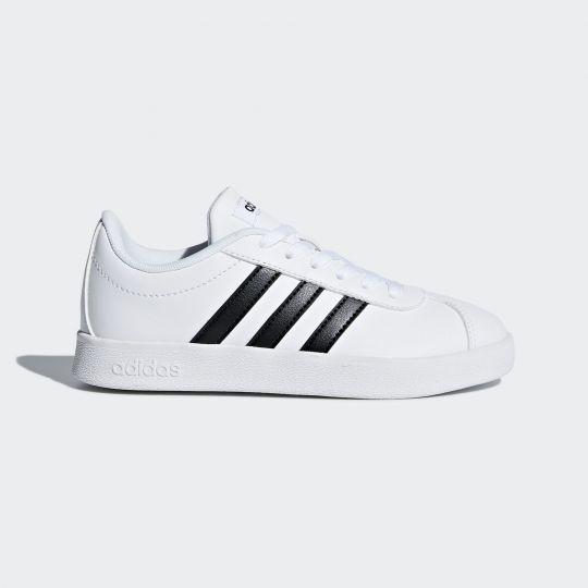 adidas VL Court 2.0 Schoenen Wit Kids