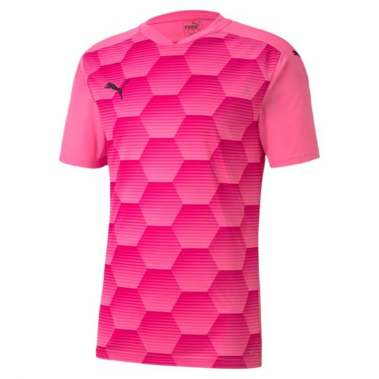 PUMA teamFINAL 21 Graphic Voetbalshirt Roze