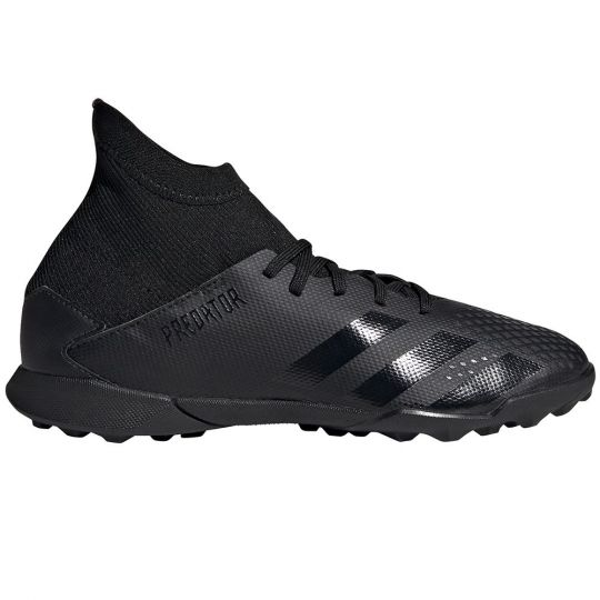 adidas PREDATOR 20.3 Turf Voetbalschoenen (TF) Kids Zwart Zwart Grijs