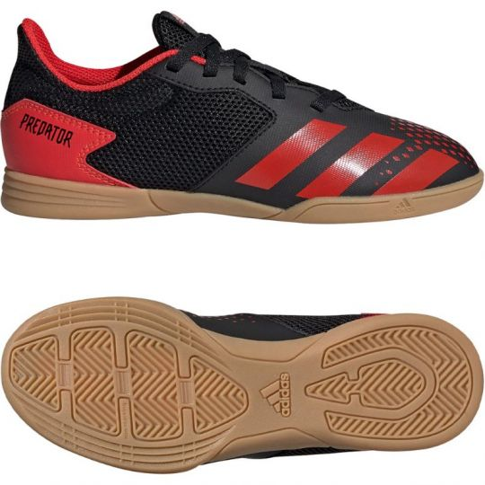 adidas PREDATOR 20.4 Sala Zaalvoetbalschoenen (IN) Kids Zwart Rood Zwart