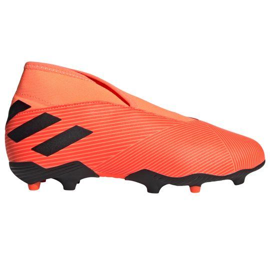 adidas NEMEZIZ 19.3 LL Gras Voetbalschoenen (FG) Kids Oranje Zwart