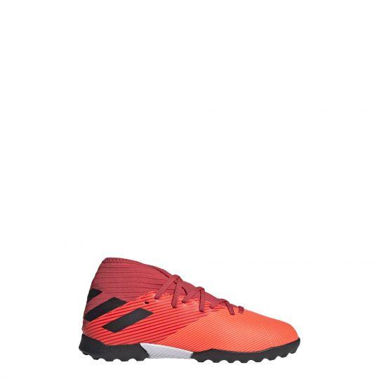 adidas Nemeziz 19.3 Turf Voetbalschoenen kids (TF) Oranje Zwart