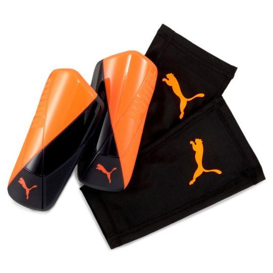 PUMA ftblNXT ST Scheenbeschermers Oranje Zwart