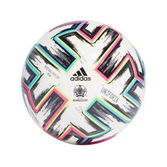adidas Uniforia Mini Voetbal Wit Zwart Maat 1