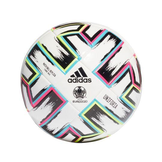 adidas Uniforia League SALA Voetbal Wit Zwart Maat 4