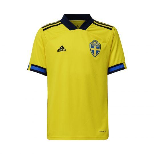 adidas Zweden Thuisshirt 2020-2021 Kids Geel Blauw Zwart