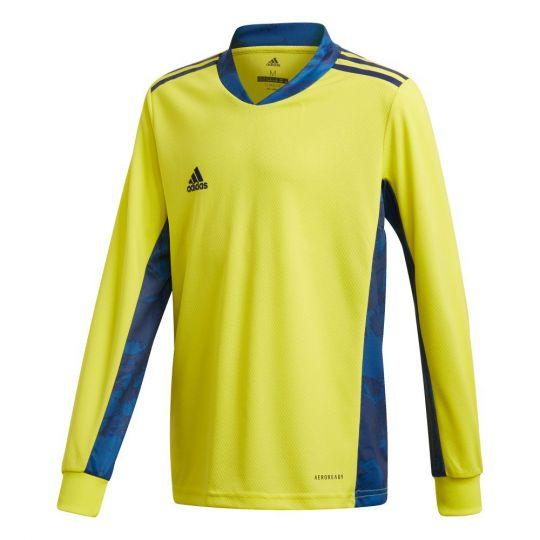adidas ADIPRO 20 Keepersshirt Lange Mouwen Kids Geel Blauw