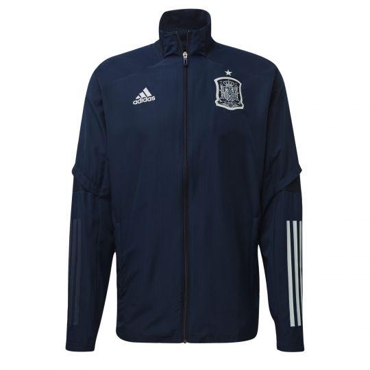 adidas Spanje Presentatie Trainingsjack 2020-2021 Blauw