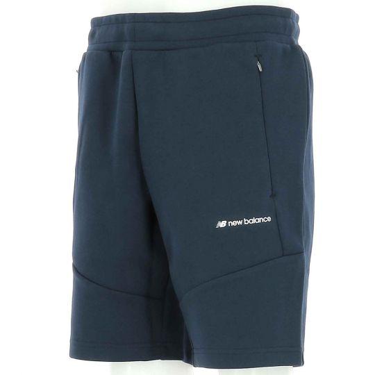 New Balance Fleece Broekje Blauw Wit