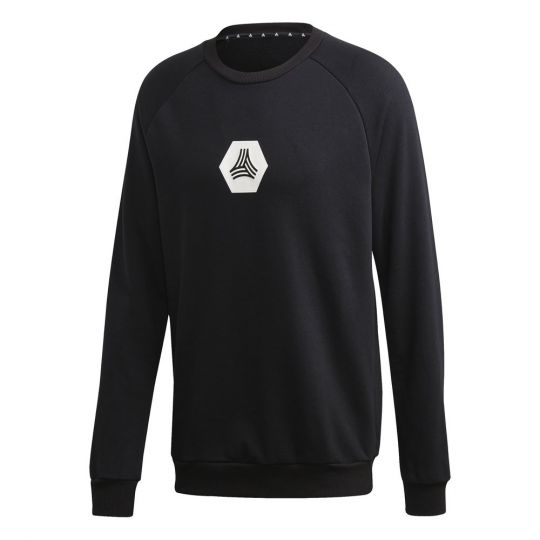 adidas TAN Sweat Logo T-Shirt Zwart Wit