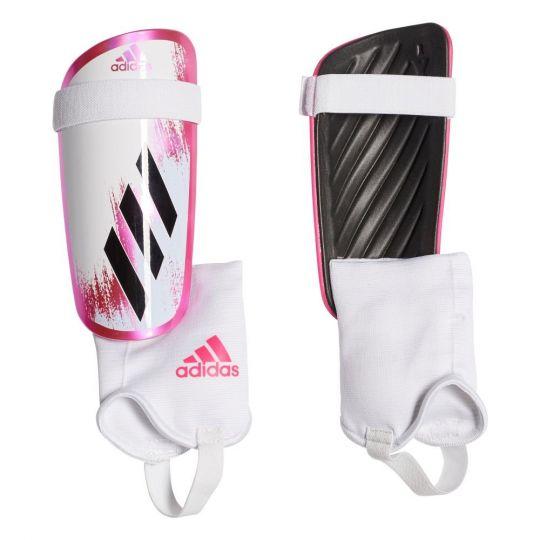 adidas X Scheenbeschermers Match Wit Roze