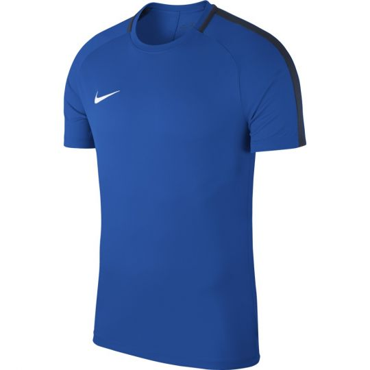 Nike Dry Academy 18 Trainingsshirt Blauw Wit