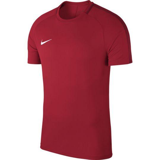 Nike Dry Academy 18 Trainingsshirt Rood Wit