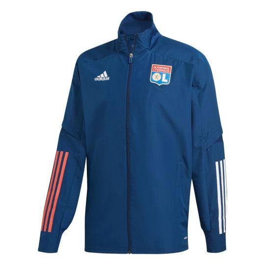 adidas Olympique Lyon Presentatie Trainingsjack 2020-2021