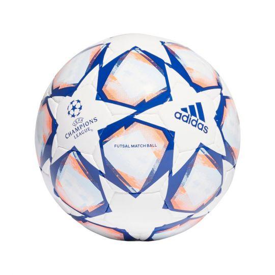 adidas Finale 20 Voetbal Pro Sala Zaalvoetbal Wit Blauw Oranje