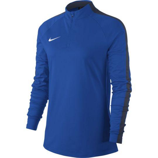 Nike Vrouwen Dry Academy 18 Drill Trainingstrui Royal Blue