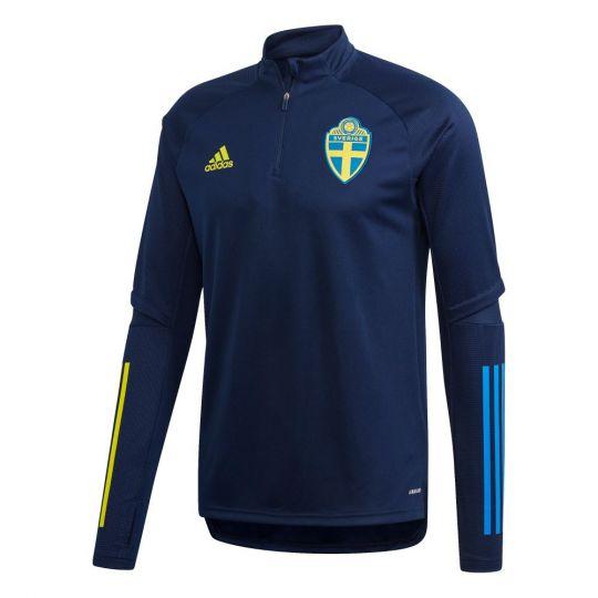 adidas Zweden Trainingstrui 2020-2021 Donkerblauw