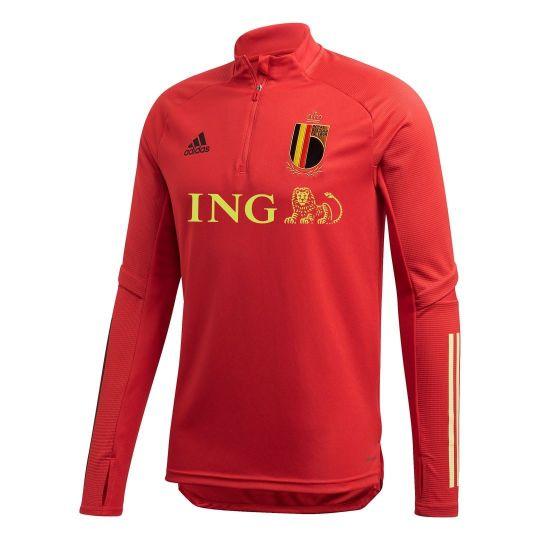 adidas Belgie Trainingstrui 2020 Rood