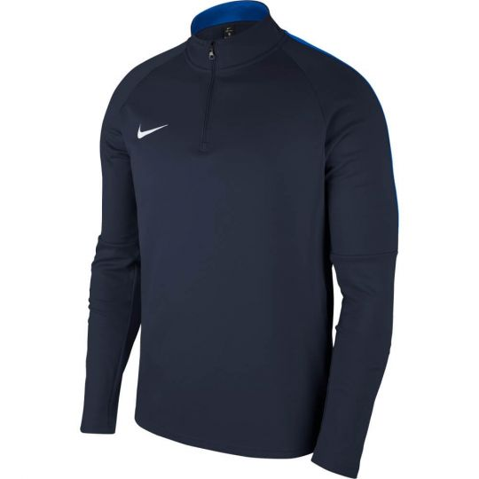 Nike Dry Academy 18 Drill Trainingstrui Kids Donkerblauw
