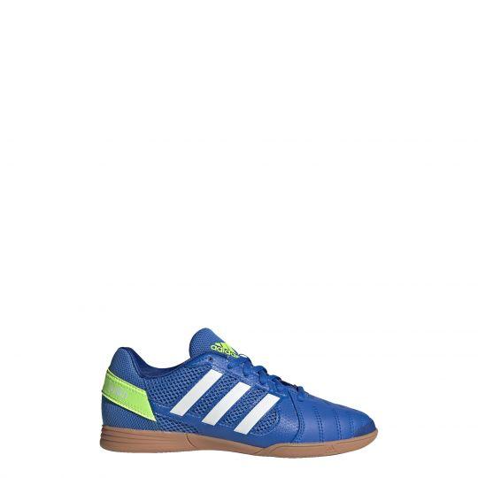 adidas Top Sala Zaalvoetbalschoenen (IN) Kids Blauw Wit Groen