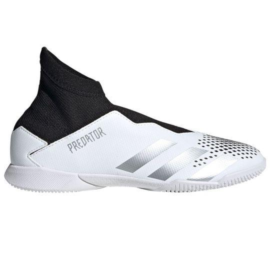 adidas PREDATOR 20.3 LL Zaalvoetbalschoenen (IN) Wit Zilver Zwart