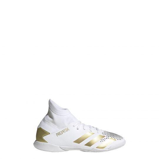 Adidas predator 20.3 Zaalvoetbalschoenen (IN) Kids Wit Goud