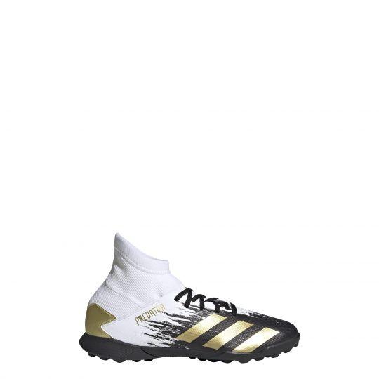 adidas Predator 20.3 Turf Voetbalschoenen (TF) Kids Wit Zwart Goud