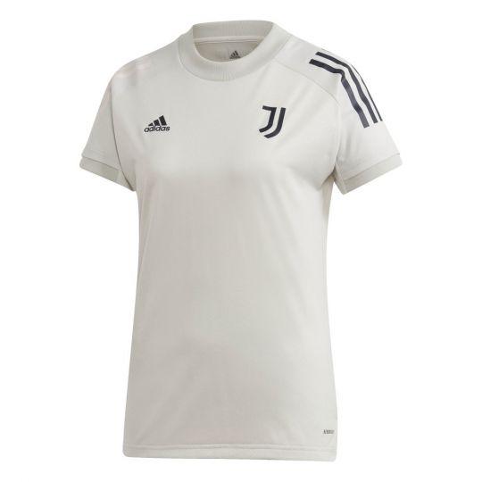 adidas Juventus Trainingsshirt 2020-2021 Vrouwen Lichtgrijs Donkerblauw