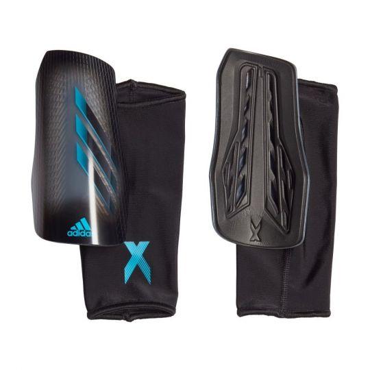 adidas X Scheenbeschermers League Zwart Grijs Blauw