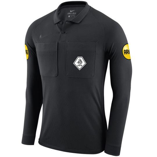 Nike KNVB Scheidsrechtersshirt Lange Mouwen 2020-2022 Zwart