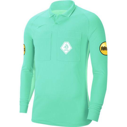 Nike KNVB Scheidsrechtersshirt Lange Mouwen 2020-2022 Turquoise