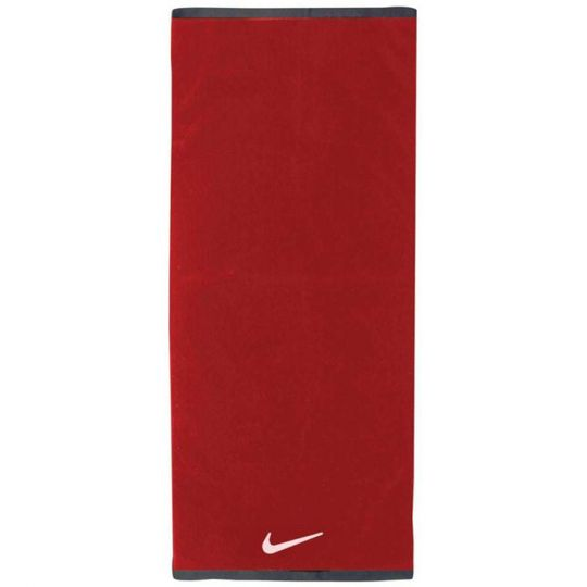 Nike FUNDAMENTAL Handdoek L Rood Wit