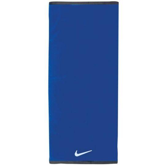 Nike Fundamental Handdoek Large Blauw