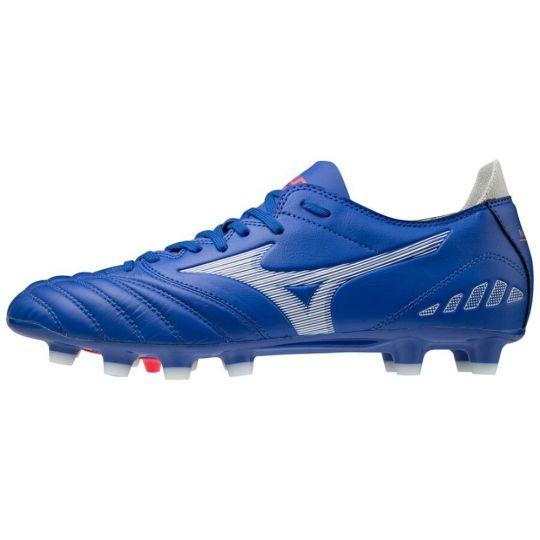 Mizuno Morelia Neo 3 Pro Reflex Voetbalschoenen (FG) Blauw Wit