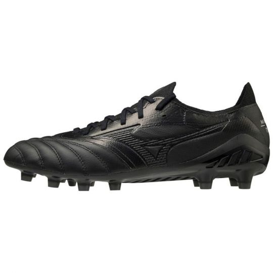 Mizuno Morelia Neo 3 Elite Gras Voetbalschoenen (FG) Zwart Zwart