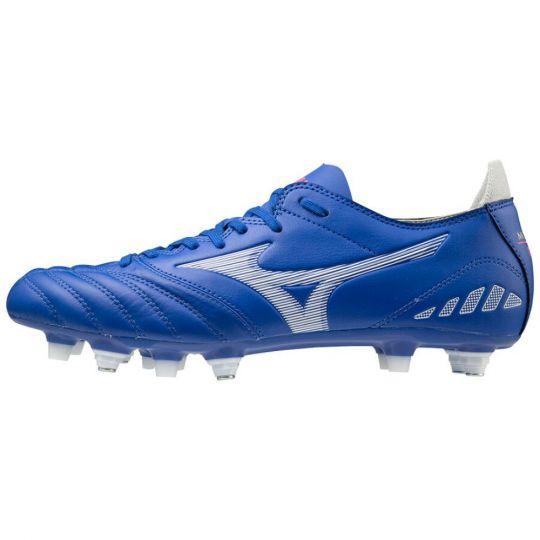 Mizuno Morelia Neo 3 Pro Ijzeren-Nop Voetbalschoenen (SG) Blauw Wit
