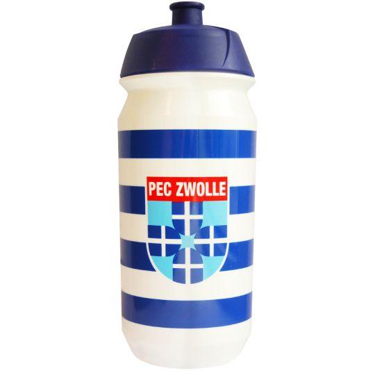 PEC Zwolle Bidon Wit 500 ml