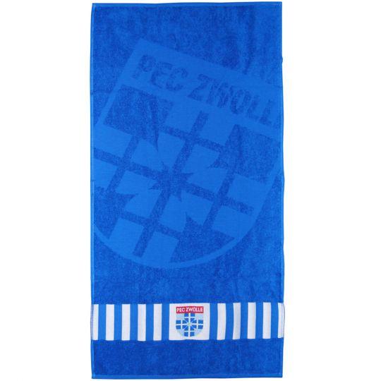PEC Zwolle Handdoek Blauw 50x100 CM