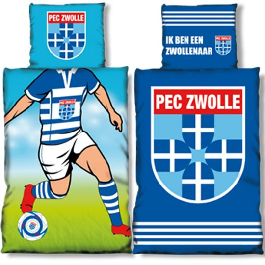 PEC Zwolle dekbedovertrek