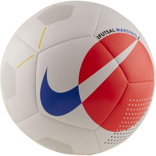 Nike Futsal Maestro Zaalvoetbal Maat 4 Wit Oranje