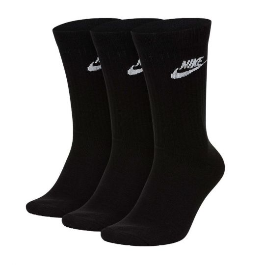 Nike NSW Everyday Essential Sportsokken 3-Pack Zwart