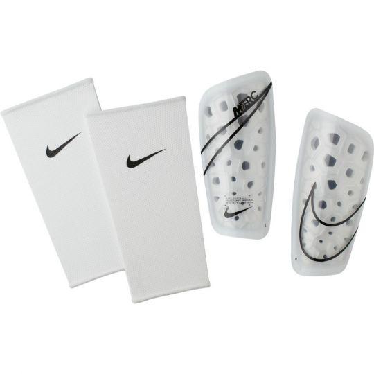 Nike Mercurial Lite Scheenbeschermers Guard Wit Zwart Wit